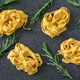 Raw pappardelle pasta - PhotoDune Item for Sale