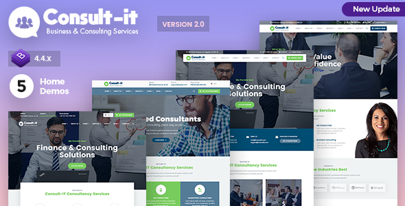 ConsultIt - Business Consulting and Investments HTML Template by mannatstudio