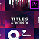Glitch Titles Sequence Mogrt - VideoHive Item for Sale