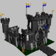 LEGO black castle - 3DOcean Item for Sale