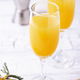 Mimosa cocktail with orange juice - PhotoDune Item for Sale