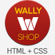 WallyShop eCommerce HTML Template Nulled