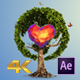 Earth Globe Tree (Logo Display) - VideoHive Item for Sale