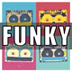 Funk Bass Guitar Logo