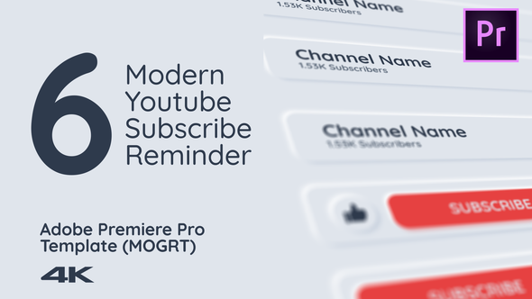 Modern Youtube Subscribe Pack