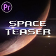 Space Trailer Titles - VideoHive Item for Sale