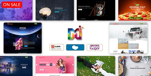 Belleza - Multi-Purpose Responsive WordPress Theme by multipurposethemes