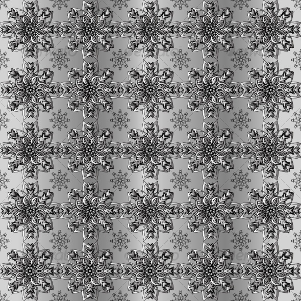 abstract floral pattern - Patterns Decorative