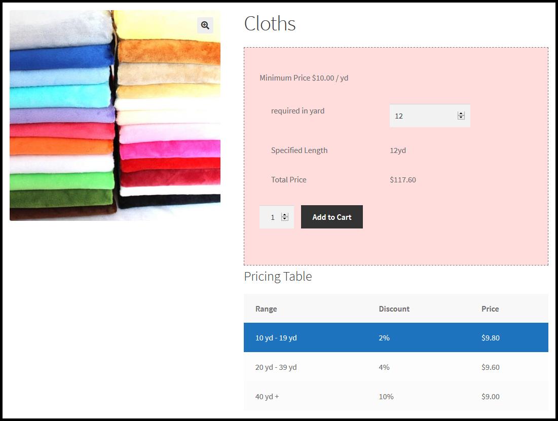 WooCommerce Measurement Price Calculator - Price Per Unit Plugin - 2