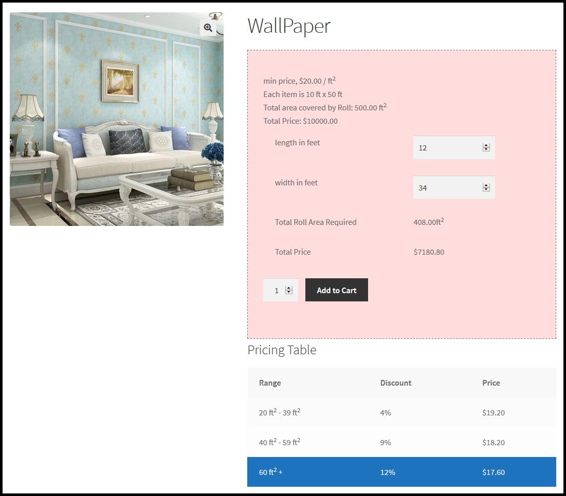 WooCommerce Measurement Price Calculator - Price Per Unit Plugin - 3
