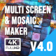 Mosaic & Multiscreen Maker Auto - VideoHive Item for Sale