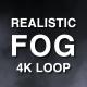 4K Realistic Fog Loop - VideoHive Item for Sale