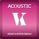 Inspiring Upbeat Acoustic Guitar