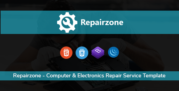 Repairzone - Computer & Electronics Repair Service Template
