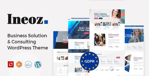 Ineoz - Business Consulting WordPress Theme