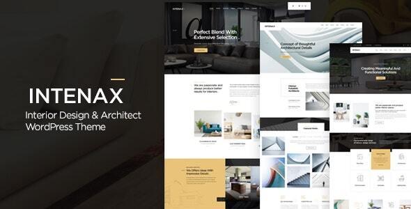 Intenax - Architecture WordPress Theme