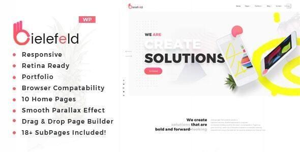 Bielefeld - Multipurpose Creative Portfolio WordPress Theme
