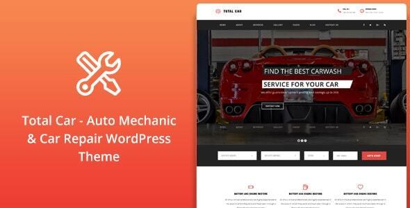Total Car || Auto Mechanic & Car Repair WordPress Theme