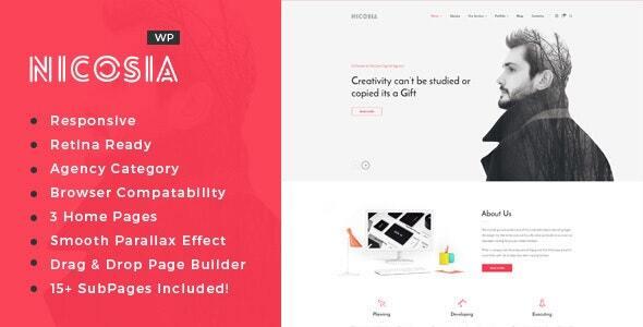 Nicosia - Online Marketing Agency WordPress Theme