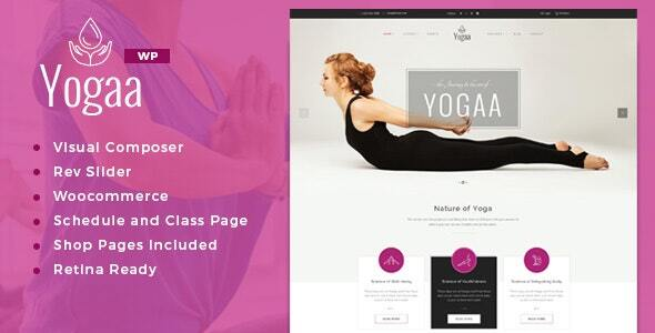 Yogaa – Healthy Beauty WordPress Theme