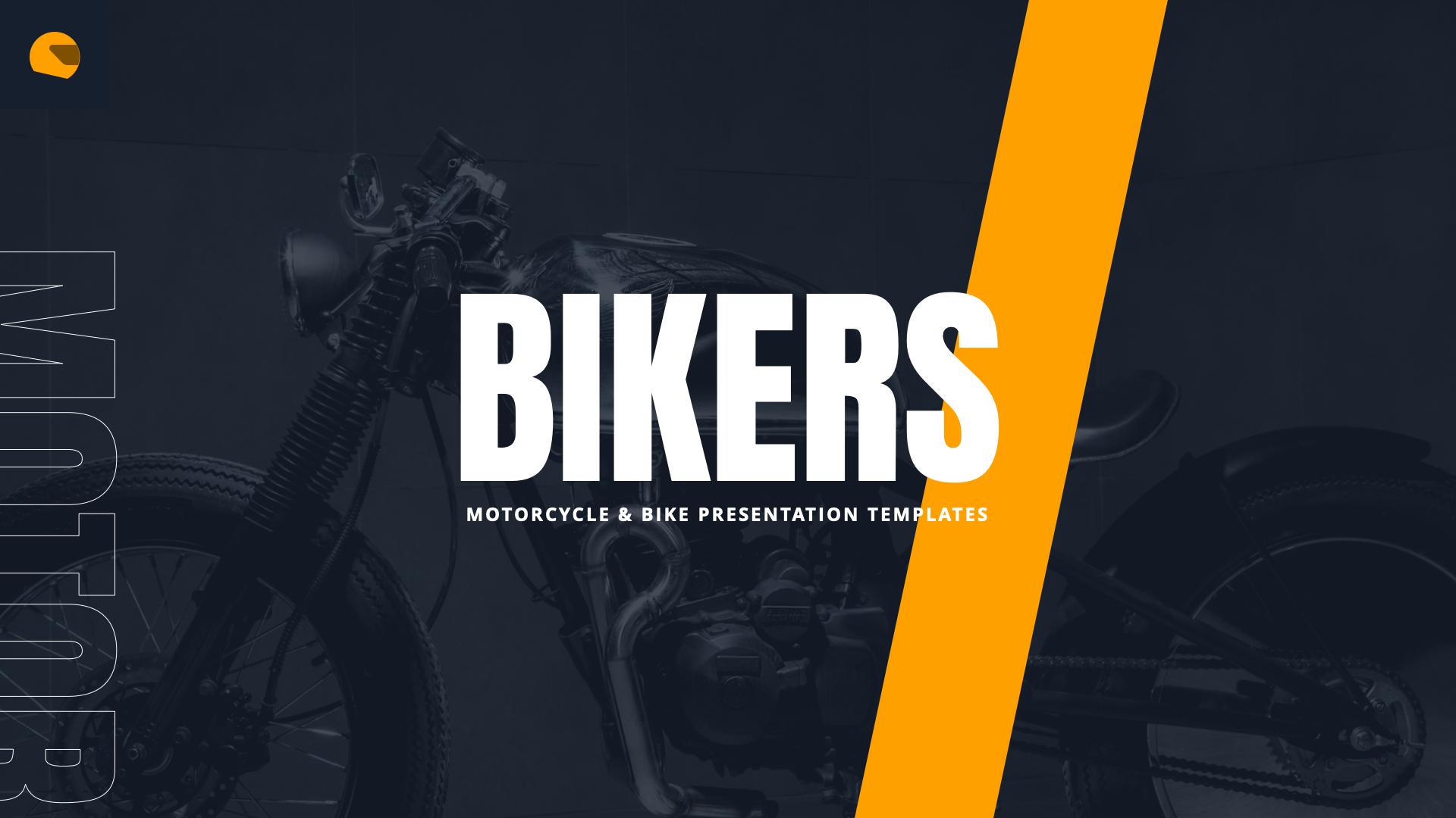Bikers - Motorcycle & Bike Google Slides Template by MasdikaStudio