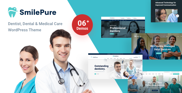SmilePure - Dental & Medical Care WordPress Theme by ThemeMove