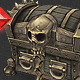 Low Poly Treasure Chest - Medium - 3DOcean Item for Sale