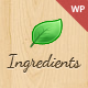 Ingredients - A Fresh Recipe WordPress Theme Nulled