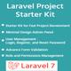 Laravel Starter Kit -CRUD, User Manager, Role, Permission