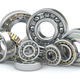 Bearings of different types isolated on white background. - PhotoDune Item for Sale
