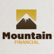 Mountain Financial Logo Template - GraphicRiver Item for Sale