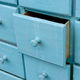 Blue wooden closet with drawers - PhotoDune Item for Sale