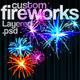Custom Fireworks Layered PSD Graphics - GraphicRiver Item for Sale