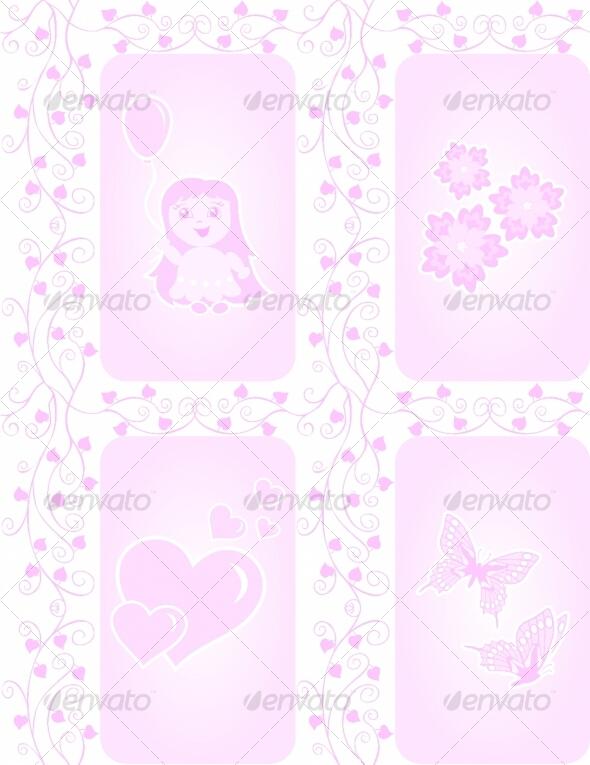 Texture for girls - Decorative Symbols Decorative