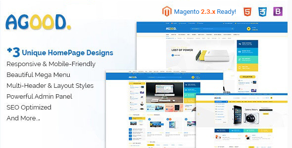 Agood - Responsive Multipurpose Magento 2 Theme