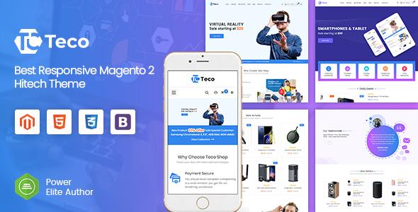 Teco - Responsive Hitech/Digital Magento 2 Store Theme