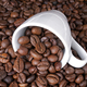 Cup of coffee full of coffee beans - PhotoDune Item for Sale