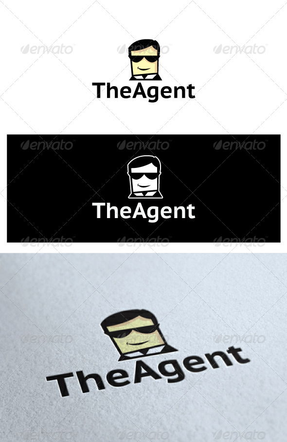 TheAgent Logo - Humans Logo Templates