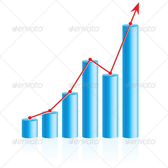 Business Graph - Backgrounds Business