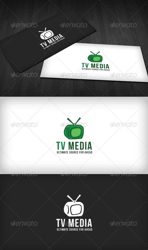 TV Media Logo - Objects Logo Templates