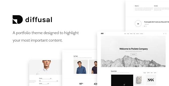 Diffusal - Portfolio Creative WordPress Theme