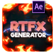 RTFX Generator [1000 FX elements] [After Effects + Pre-rendered clips]