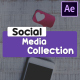 Social Media Collection | After Effects - VideoHive Item for Sale