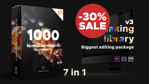 Filmmaking Library – Biggest Editing Package
