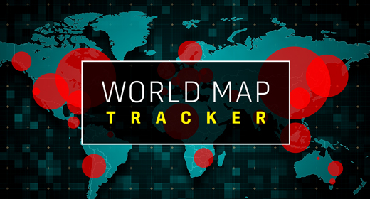 World Map Population Tracker