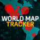 COVID-19 Coronavirus Pandemic Tracker | World Map & USA Map Population - VideoHive Item for Sale