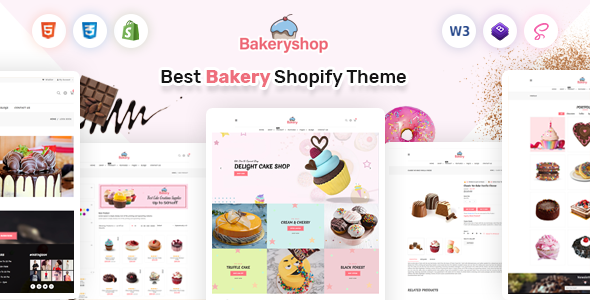 Bakeryshop - Shopify Cake Shop, Bakery Theme