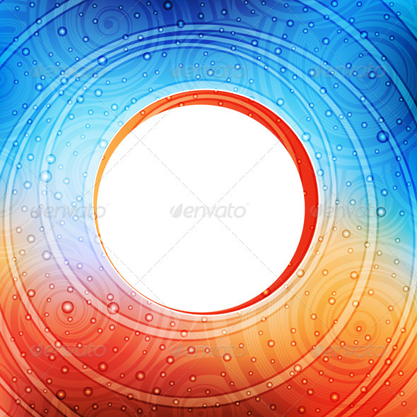 Round Banner - Backgrounds Decorative