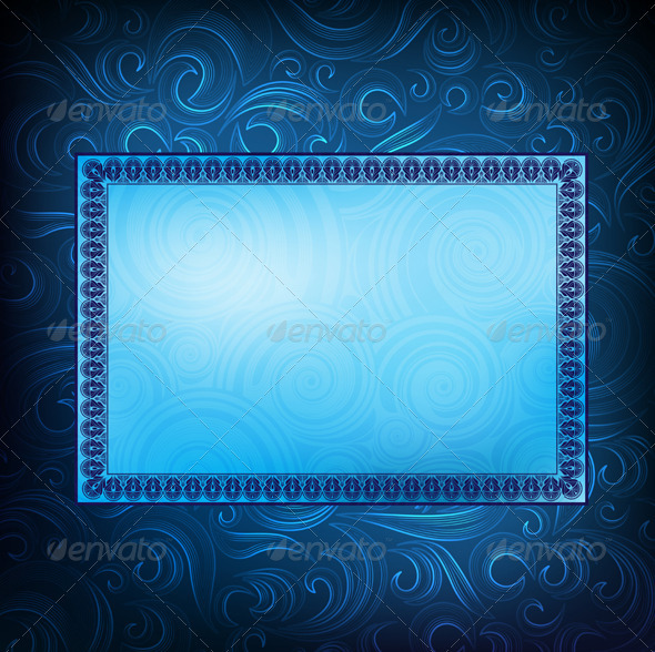 Ornamented Frames - Backgrounds Decorative