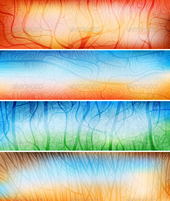 Creative Design Banners - Backgrounds Decorative